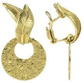 Torrini Victoria - 18K Yellow Gold Chiselled Earrings