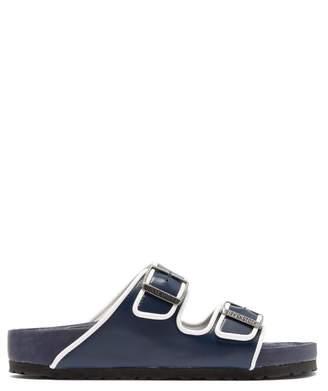 Birkenstock X Il Dolce Far Niente - Arizona Fullex Leather Sandals - Mens - Blue