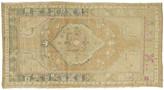 """One Kings Lane Vintage Oushak Runner - 3'4"""" x 6' - J & D Oriental Rugs - beige/blue/pink"""