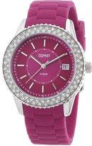 Esprit ES106212006 - Women's Watch, Silicon,Beige Tone