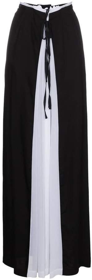 Ann Demeulemeester Gathered Maxi Skirt