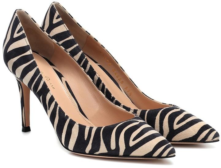 Zebra Print Heels   Shop the world's