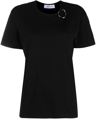 Act N�1 Carabiner-Detailed Cotton T-Shirt