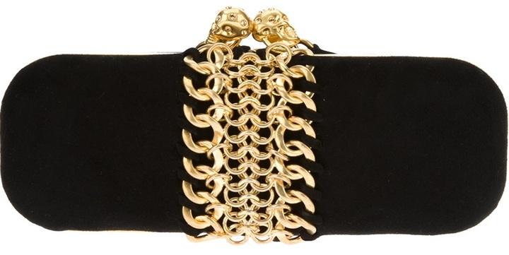 Alexander McQueen 'Knucklebox' chain clutch