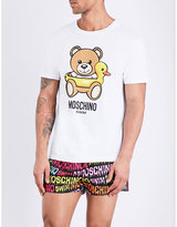 Moschino Teddy Bear-print Cotton-jersey T-shirt