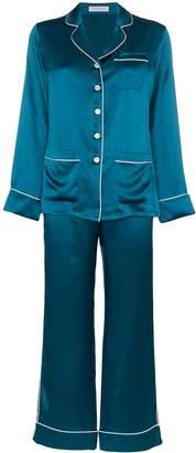 Olivia von Halle two-piece pyjama set