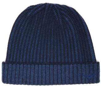 Sease - Logo-embroidered Cashmere Beanie Hat - Mens - Navy