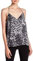 Socialite Leopard Print T-Back Cami