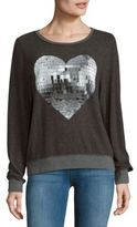 Wildfox Couture Long-Sleeve Roundneck Sweatshirt