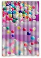 "wantsky Personalized Funky Candy Rainbow Unique Shower Curtain (rideau de douche)s 48"" By 72"""