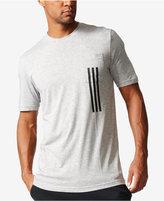 adidas Men's Three-Stripe ClimaLite® T-Shirt