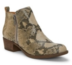 Lucky Brand Women's Basel Leather Booties Women's Shoes