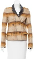 Salvatore Ferragamo Patterned Wool Jacket
