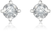 Forzieri 0.37 ct Four-Prong Diamond Stud Earrings