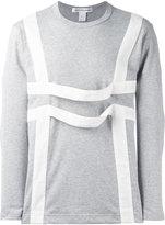 Comme des Garcons straps T-shirt - men - Cotton - S