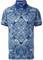Etro abstract print polo shirt - men - Cotton - S