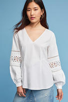 Maeve Lace Cutout Blouse