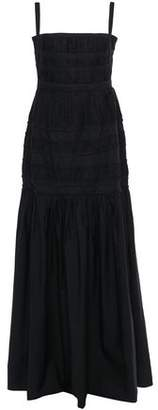 Brock Collection Tiered Cotton Maxi Dress