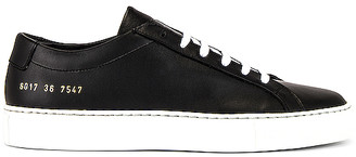 Common Projects Achilles Low White Sole Sneaker
