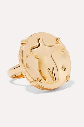 Chloé Femininities Gold-tone Ring - 52