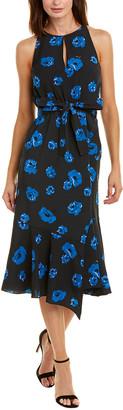 Derek Lam 10 Crosby Tie-Waist Midi Dress