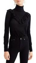 J.Crew Women's Tippi Ruffle Turtleneck Sweater