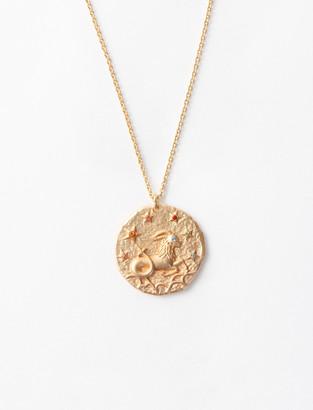 Maje Capricorn zodiac sign necklace