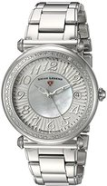 Swiss Legend Women's 'Bel Air' Quartz Stainless Steel Casual Watch, Color:Silver-Toned (Model: 16330SM-22)