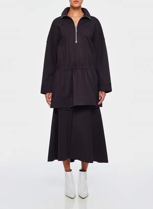 Tibi Bond Stretch Knit Tunic Top