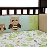Lambs & Ivy Little Hoot Crib Bumper