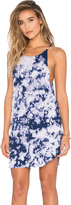 LnA Bib Tank Mini Dress