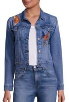 3x1 Embroidered Denim Jacket