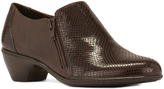 Walking Cradles Brown Snake Cadence Leather Bootie
