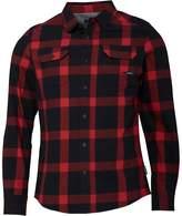 Firetrap Mens Sombre Long Sleeve Shirt Blood Red Ombre