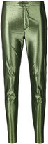 Isabel Marant Gevada shine-effect skinny trousers - women - Cotton/Polyamide/Polyester/Spandex/Elastane - 36
