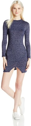 Clementine Apparel Clementine Women's Everyday Junior Sizing Long Sleeve Sleeve Dress