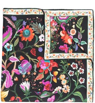 Salvatore Ferragamo Tree of Life silk scarf