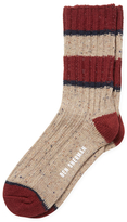 Ben Sherman Rib Striped Boot Socks