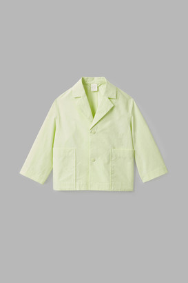 Cos Cotton Jacket With Lapels