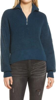 BDG Half Zip Fisherman Sweater