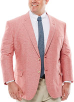 STAFFORD Stafford Linen Cotton Jacket - Big & Tall