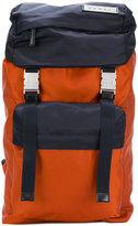 Marni bi-colour nylon backpack