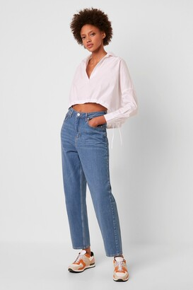French Connection Reem Denim Boyfriend Jeans
