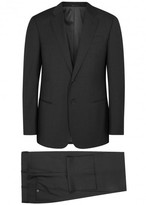 Armani Collezioni G-line Charcoal Wool Suit