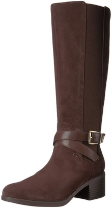 Clarks Women's Emslie Sinai Wide Calf Winter Boot