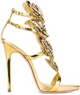 Giuseppe Zanotti Design 'Cruel' metallic sandals - women - Leather/metal - 35