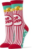 JYinstyle Oooh Yeah Women's Luxury Combed Cotton Crew Socks - Superman Pizza Party (Box...
