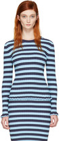 Altuzarra Blue Striped Chandler Pullover