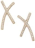 Madewell X Pavé Earrings