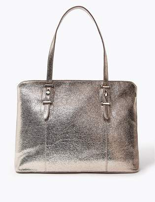 Marks and Spencer Metallic Tote Bag